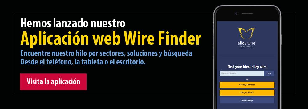 Hemos lanzado nuestro Aplicacion web Wire Finder