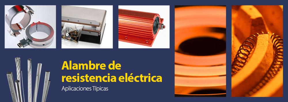 Alambre de resistencia eléctrica y alambre de corte en caliente